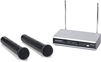Samson Stage v266 Handheld - Dual Vocal Wireless System - Ch 321