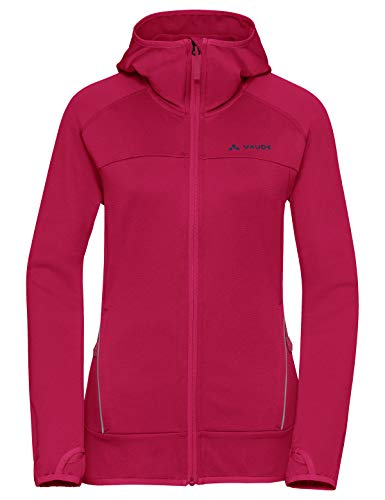 VAUDE Damen Jacke Women's Tekoa Fleece Jacket, crimson red, 36, 409399770360