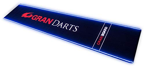 GranBoard LED Darts Mat Dart Rug, Multi-Coloured