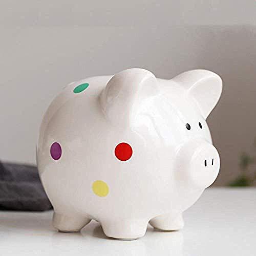 Decoraciones Arte Artesanía Niños Dinero Banco Money Pig Piggy Bank Pareja Regalo...