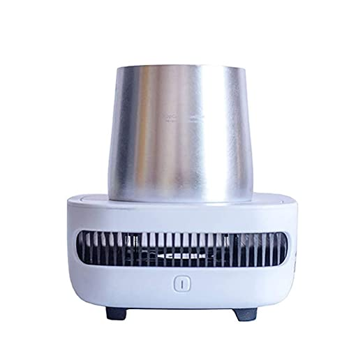 JJINPIXIU Cooler Máquina de vasos de enfriamiento rápido, dispositivo de enfriamiento de bebidas Taza de enfriamiento de escritorio eléctrica Refrigeración inteligente para cerveza, cola, jugo, vino y