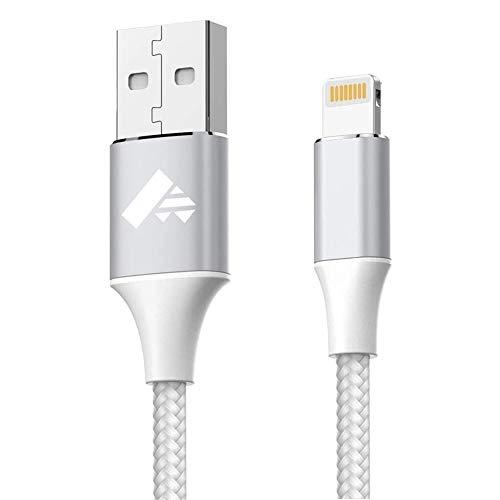 iPhone Ladekabel Lightning Kabel 1.8M, Aioneus iPhone Kabel MFi Zertifiziert Schnellladung USB Ladekabel für iPhone 12 Pro Mini Max 11 11 Pro XR XS X 8 8 Plus 7 7 Plus 6 6S 6S Plus 5S 5 SE 2020, iPad