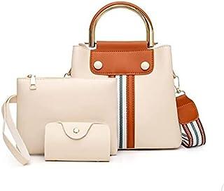 حقيبة للنساء-بيج - مجموعة حقائب اليد