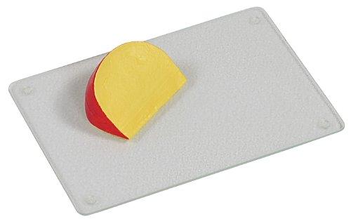 KESPER 35300 Planche à découper en Verre 30x20x0,9cm, Plastique, Multicolore, 15 cm