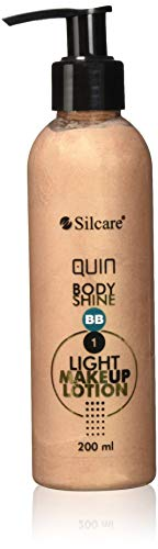 Silcare Quin Fluid BB Bodylotion Körperlotion, Light, 200 ml