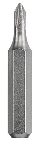 KWB Bit-Set 28-mm Ph-000, PH-00, Ph-0, Ph-1 Micro-Bit für Fein-Mechanik (Schaft 4-mm, Tq 60 Stahl, mit Haltestreifen, für Mikro-Bit-Halter)