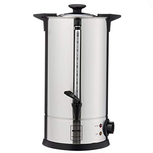 Metro Professional Wasserkocher GWB1010 | 10 Liter | 65 Tassen | 1300 W | auch für Glühwein | berhitzungsschutz | Warmhaltefunktion | Kühle Außenwand | für den gewerblichen Einsatz geeignet