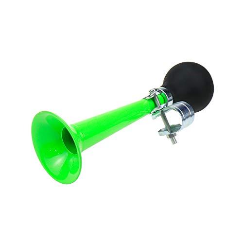 AUTUT Green Bicycle Bike Retro Metal Air Horn Bugle Rubber Bulb