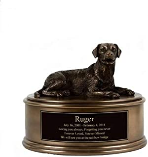 Perfect Memorials Labrador Figurine Cremation Urn