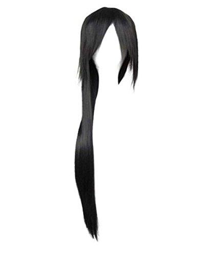 Etruke Perruques pour cosplay Naruto Uchiha Noir