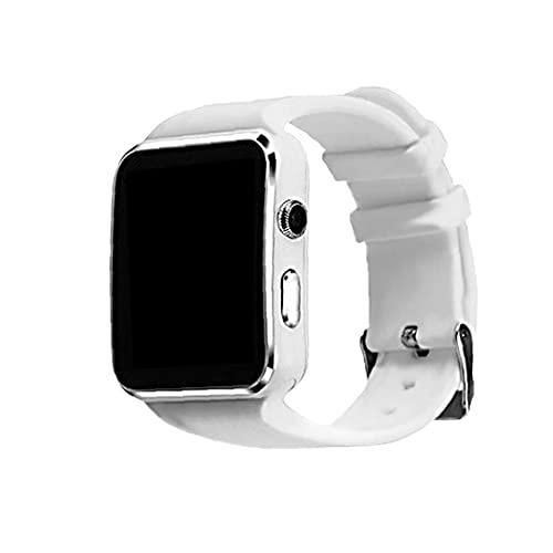 Smart montre à écran tactile Sport Bluetooth X6 Smart Watch avec une fréquence cardiaque Podomètre sommeil Moniteur message Reminding blanc, appareils électroniques portables SmartWatch