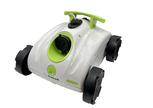 Nu Cobalt NC5203 Waterjet Robotic Cleaner for Above Ground or Other Flat Bottom Pools