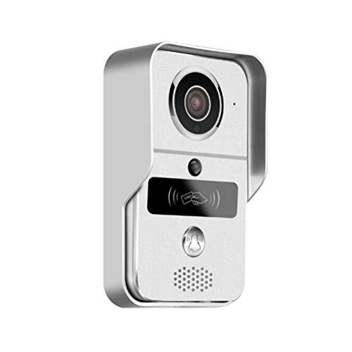 YSAYK Videoportero IP 4G Video Puerta Teléfono Anillo Timbre De La Puerta Timbre WiFi Cámara Alarma Seguridad Inalámbrica Tarjeta SD Cámara Agregar Tarjeta De 32GB (Color : A)