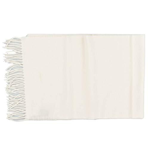 GANT Unisex Schal Solid Wool Scarf Wolle Wollschal in Creme