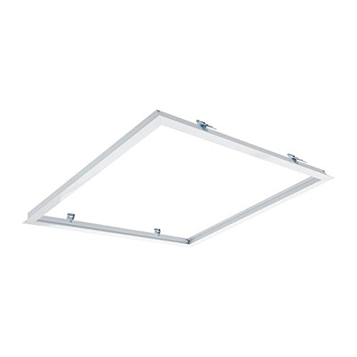 LEDKIA LIGHTING Marco Empotrable para Paneles LED 60x60cm BlancoBlanco