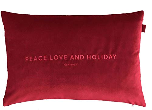 GANT Home PLH (Holiday) Kissenhülle 40x60 Winter Wine