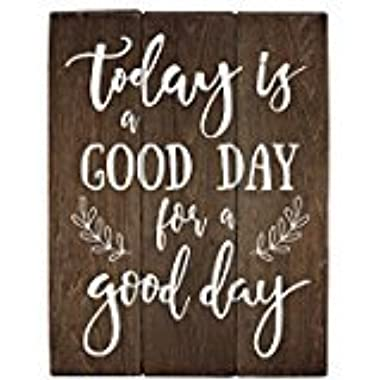 Elegant Signs Today is a good day for a good day office wall art kitchen dÃcor rustic office dÃcor ideas living room art (11 x 14 inch)