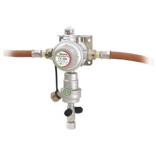 Truma Gasdruckregler DuoControl CS 30 mbar Druckminderer silber