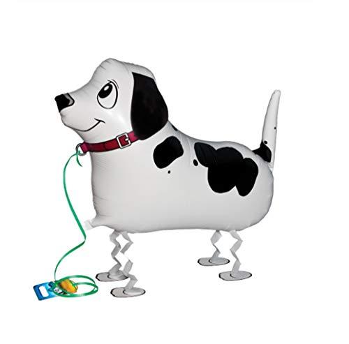 BWS Los Padres Globo con Forma de Perro Dalmata Que Camina, Color Blanco/Negro, r2246