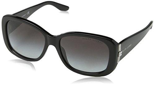 Ralph Lauren Damen 0Rl8127B 50018G 55 Sonnenbrille, Schwarz (Black/Gray Gradient)