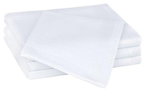 Tobeni 12 Stück Herren Stoff Taschentücher Herrentaschentücher Stofftaschentücher 100% Baumwolle-Satin Farbe Design 37 Grösse 41 cm x 41 cm