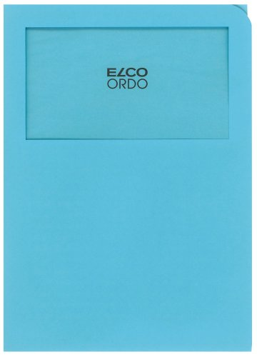 Elco 29469.31 Ordo Organisationsmappe Classico, 220 x 310 mm, 120 g, blau