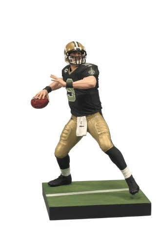 Price comparison product image McFarlane Toys NFL Series 23 - Drew Brees 3 Action Figure