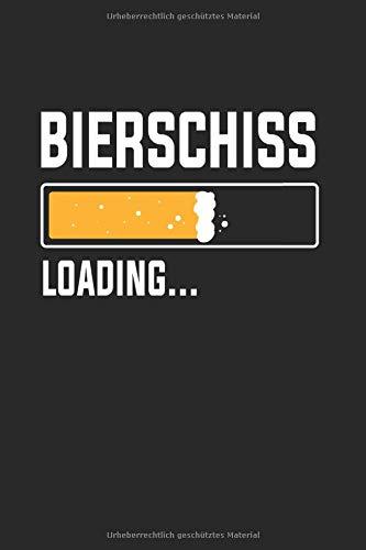 Notizbuch: Betrunken Bier Alkohol Bierschiss Lustig Geschenk 120 Seiten, 6X9 (Ca. A5), Karomuster