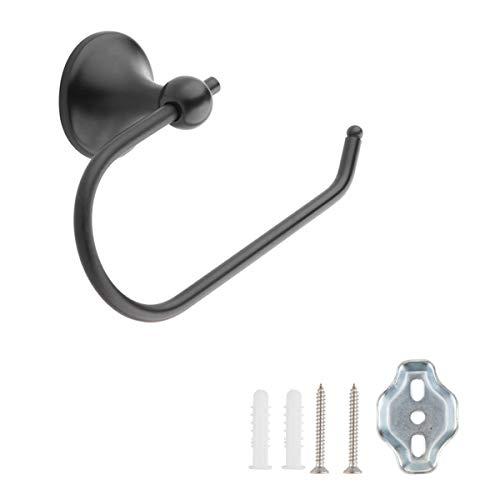 Amazon Basics – AB-BR837-OR Toilettenpapier-Halter, Bronzefarben mit Ölschliff