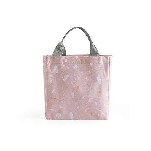 KonJin Kühltasche Thermotasche Isoliertasche Mittagessen Tasche für Arbeit Schule Picknick Radfahren Einkaufen Unterwegs Lebensmitteltransport für Damen Herren