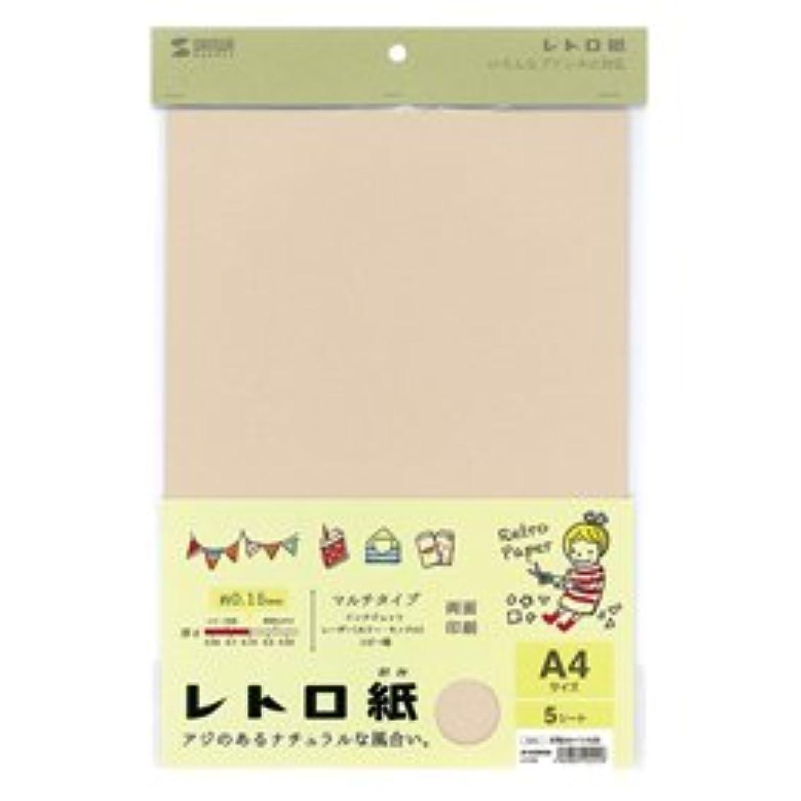 憲法宿る(3個まとめ売り) サンワサプライ レトロ紙(マルチタイプ) JP-MTRT04
