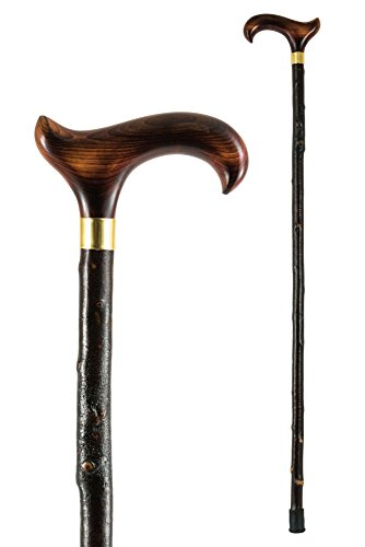 Country Derby Cane on a Blackthorn Shaft
