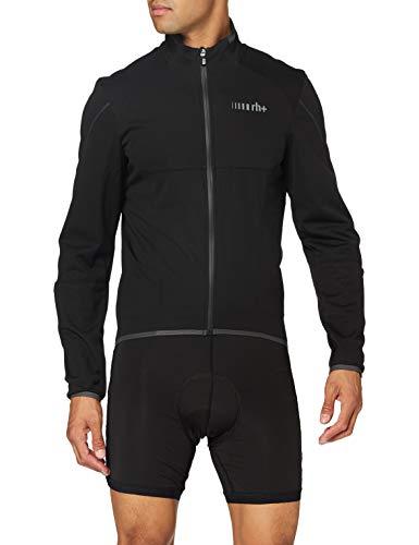 zerorh+ Powerlogic, Abbigliamento Man Bike Jacket Uomo, Black/Reflex, L