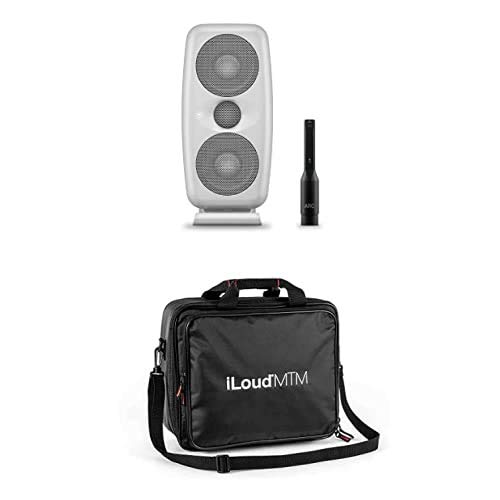 IK Multimedia iLoud MTM(ホワイト) ステレオペア + 純正バッグ バンドルセット コンパクトリファレンスモニター 自動音場補正機能搭載【国内正規品】