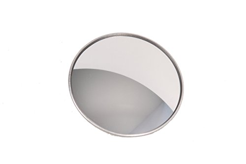 "Best In Auto 3"" Wide Angle Convex Blind Spot Round Stick-On Mirror Side View"