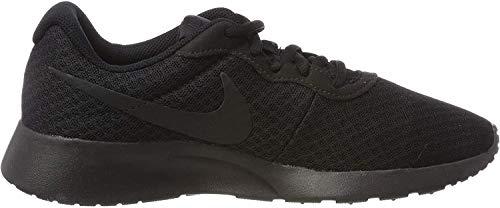 Nike Herren Tanjun Laufschuhe, Schwarz (Black/Black-Anthracite),40.5 EU