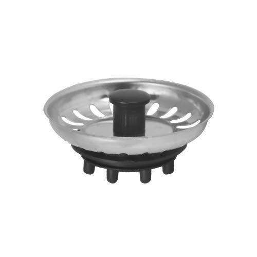 MONTSERRAT Filtro TAPÓN Rejilla FREGADERA INOX. (81 X 31 mm