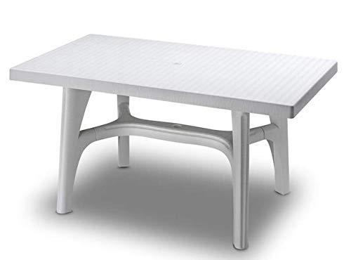 Scab Rudiano SAB325 Tavolo Intrecciato, Bianco