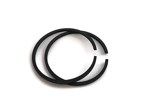 2 pcs 1 set Piston Ring Set fit STIHL 009, 010 AV 1120 034 3000 36MM x 1.5 Kolbenring Rings Chainsaw Motor Engine