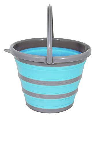 Spear & Jackson 10L Blue Collapsible Bucket