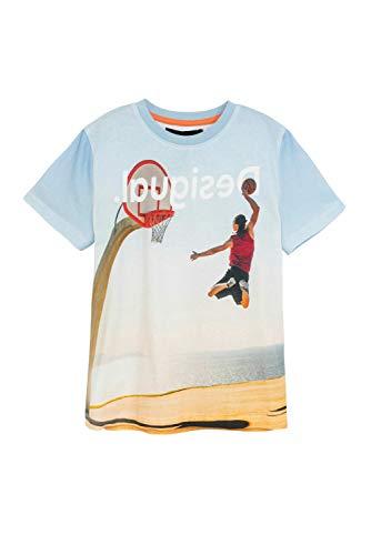 Desigual TS_Dante Camiseta, Blue, 9/10/2020 para Niños