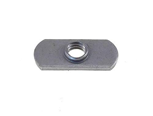 20 Pack 3/8-16 Spot Weld Nuts - Double Tab - Center Hole Design Spot Weld Nut - Low-Carbon Steel