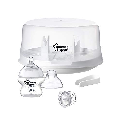 TOMMEE TIPPEE Microwave Steam Steriliser, White