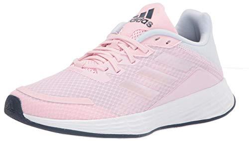 adidas Unisex-Baby Duramo SL Running Shoe, Clear Pink/Iridescent/Halo Blue, 6