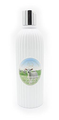 Florex - Champú para cabello y cuerpo clásico con leche de oveja, 330 ml, fabricado en Austria