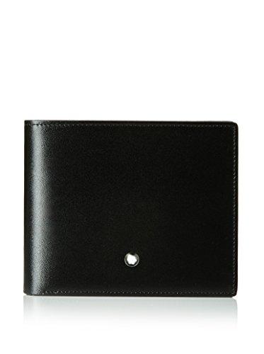 Brand New Montblanc Meisterstuck Wallet 12Cc MB-103384 Men's Black Color Leather