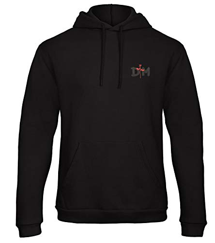 Depeche Mode Musik Rock Icon Fun Bestickte Kapuzenpullover Hooded Sweat Jacket VIP super Qualität - 7150 - Sw (XXL)