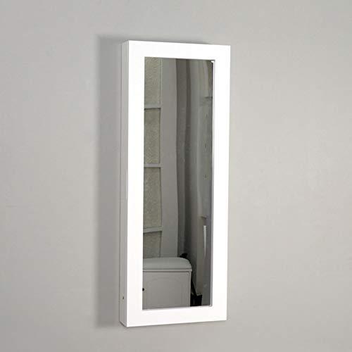 Tabla De Planchar Espejo Plegable Montado En La Pared Marco De Madera Maciza Moderno Muebles Simples Fácil Instalación (Size : 95x35.5x17.5cm)