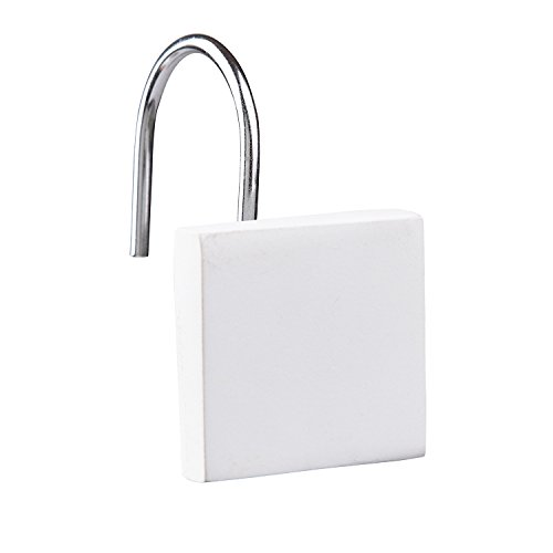 Zone Denmark Haken für Duschvorhang Confetti Weiss