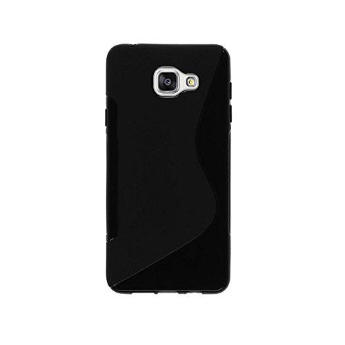 Mb Accesorios Funda Carcasa Gel Negra para Samsung Galaxy A5 2017 (A530), Ultra Fina 0,33mm, Silicona TPU de Alta Resistencia y Flexibilidad
